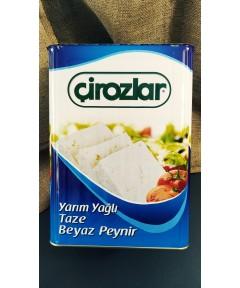 17 Kg Yarım Yağlı Beyaz Peynir (Çirozlar)