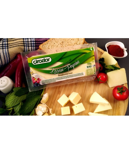 700 gr Tam Yağlı Taze Kaşar Peyniri